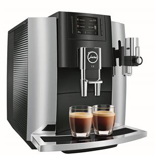 Espresso kafijas automāts E8 Chrome 2018, JURA