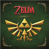 Kalendārs Legend of Zelda 2019