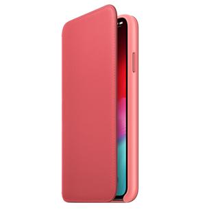 Ādas apvalks folio priekš iPhone XS Max, Apple