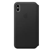 Ādas apvalks folio priekš iPhone XS, Apple