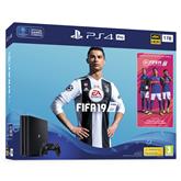Spēļu konsole PlayStation 4 Pro, Sony / 1 TB + FIFA 19