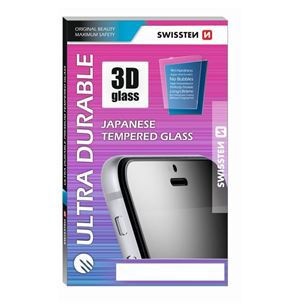 Aizsargstikls Ultra Durable 3D priekš iPhone 7 Plus / 8 Plus, Swissten
