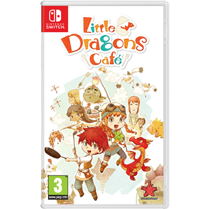 Spēle priekš Nintendo Switch Little Dragons Cafe