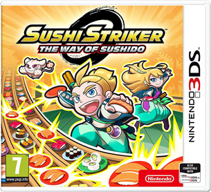 Spēle priekš Nintendo 3DS Sushi Striker: The Way of Sushido