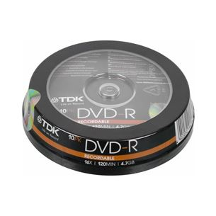Диски DVD-R, TDK / 4,7GB