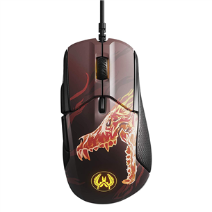 Optiskā pele Rival 310 CS:GO Howl Edition, SteelSeries