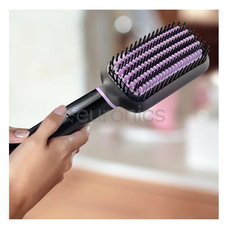 Heated Straightening Brush Philips Bhh880 00