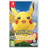 Spēle priekš Nintendo Switch, Pokémon: Lets Go, Pikachu!
