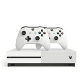 Gaming console Microsoft Xbox One S (1TB) + 2 controllers