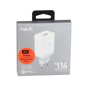 Lādētājs HAVIT 114, USB 3.0