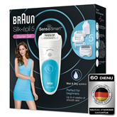 Epilators Silk-épil 5 SensoSmart Wet & Dry, Braun
