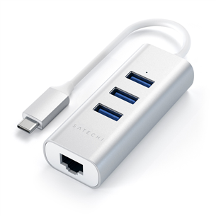 Adapteris USB-C + Gigabit Ethernet, Satechi