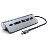 Adapteris USB-C + karšu lasītājs, Satechi