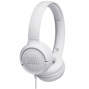 Austiņas Tune 500, JBL JBLT500WHT