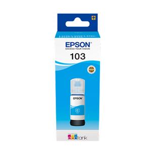 Tinte 103 EcoTank, Epson / Cyan (zila)