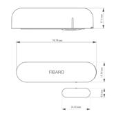 Durvju / logu atvēršanas sensors, Fibaro