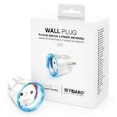 Смарт-модуль в розетку Wall Plug, Fibaro (F)