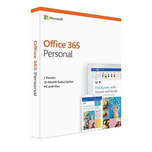MS Office 365 Personal ENG 1 gads