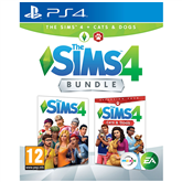 Игра для PlayStation 4, The Sims 4 + Cats and Dogs Bundle