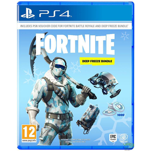 Spēle priekš PlayStation 4, Fortnite Deep Freeze Bundle