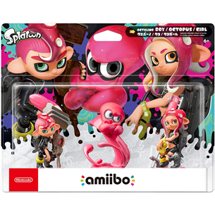 Amiibo Splatoon Octoling pack