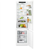 Iebūvējams ledusskapis, AEG / augstums: 188 cm