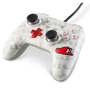 Spēļu kontrolieris priekš Nintendo Switch Super Mario Odyssey, PowerA