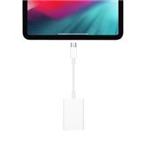 Adapteris USB-C + karšu lasītājs, Apple