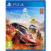 Игра для PlayStation 4, Dakar 18