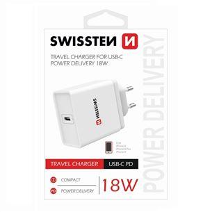 Charger USB Type-C, Swissten / 3A