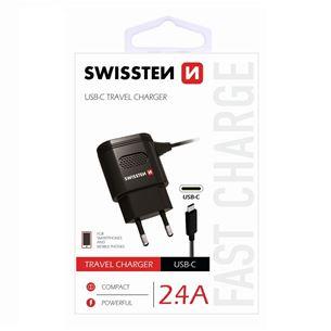Lādētājs USB Type-C, Swissten / 2,4A