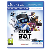 PS4 game VR Astro Bot Rescue Mission