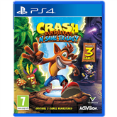 Игра для PlayStation 4, Crash Bandicoot N. Sane Trilogy