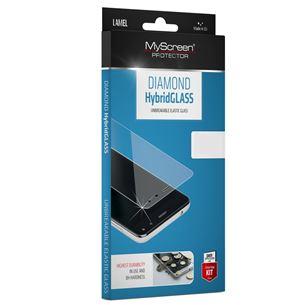 Ekrāna aizsargstikls Diamond hybrid glass priekš Galaxy A5 / A8, MSC