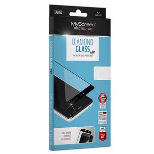 Ekrāna aizsargstikls Diamond glass edge priekš iPhone XR, MSC