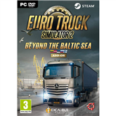 Компьютерная игра  Euro Truck Simulator 2: Beyond the Baltic Sea