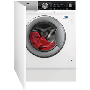 Интегрируемая стирально-сушильная машина AEG (8 кг / 4 кг) L8WBE68SI