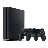 Gaming console Sony PlayStation 4 Slim (1 TB) + 2 controllers