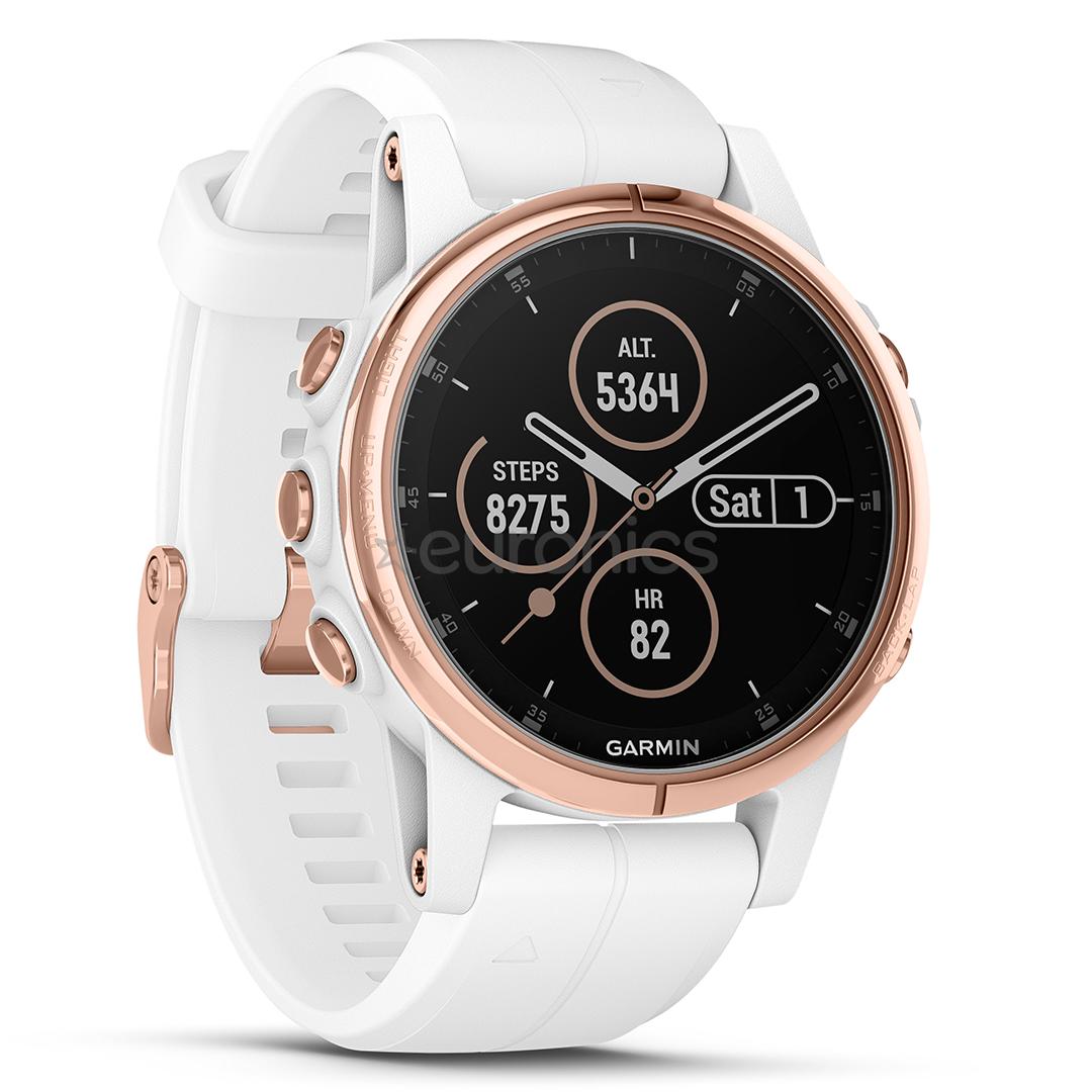 bf54e4afe4b GPS watch Garmin FENIX 5S Plus Sapphire, 010-01987-07