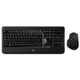 Bezvadu klaviatūra + pele MX900, Logitech / US
