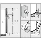 Iebūvējama elektriskā cepeškrāsns, Miele (76 L)