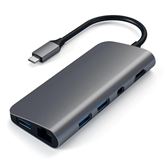 Adapteris USB-C 4K HDMI/Mini DP Gigabit Ethernet, Satechi