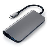 Adapteris USB-C 4K HDMI/Mini DP Gigabit Ethernet, Satechi