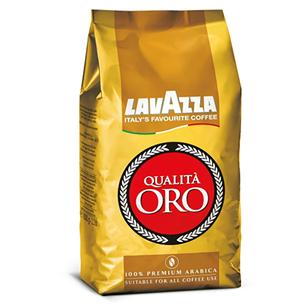 Kafijas pupiņas Qualita ORO, Lavazza