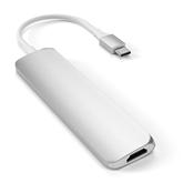 Adapteris USB-C Multi-Port 4K + SD lasītājs, Satechi