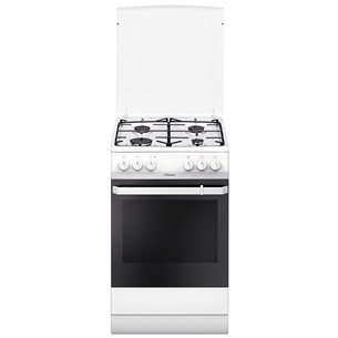 Gas cooker with electric oven Hansa (50 cm)