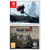 Spēle priekš Nintendo Switch Child Of Light + Valiant Hearts