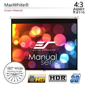 Projektoru ekrāns M120XWV2, Elite Screens / 4:3