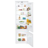 Интегрируемый холодильник, Liebherr / 178cm