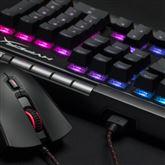 Klaviatūra Alloy Elite RGB Cherry MX Red, HyperX / ENG